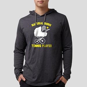 StrollerNaturalBornTennis2F Mens Hooded Shirt