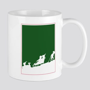 Christmas Woodblock Mug