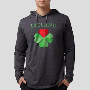 IRELAND2 Mens Hooded Shirt