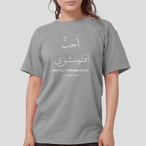 I love my Affenpinsche Womens Comfort Colors Shirt