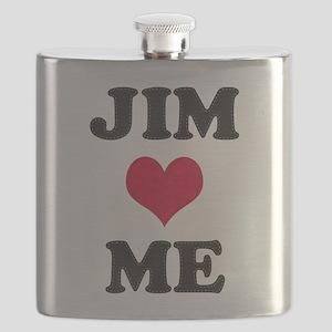 Jim Loves Me Flask