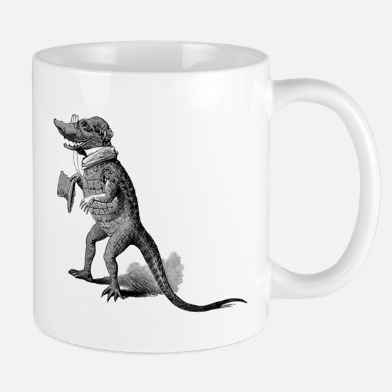 Alligator with top hat Mug