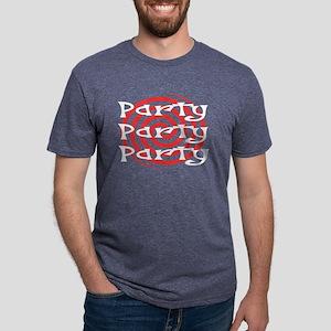 Party Mens Tri-blend T-Shirt