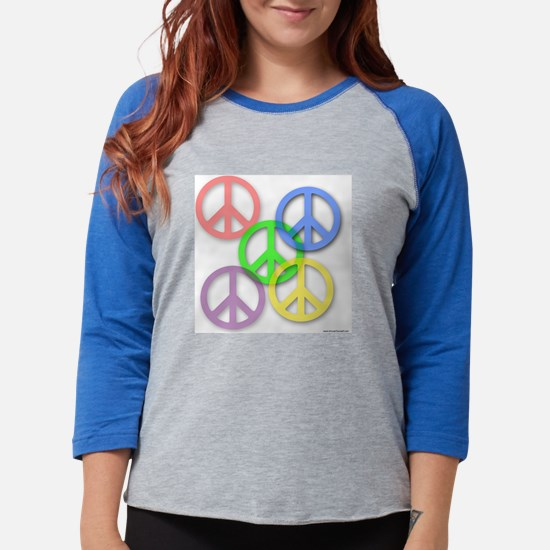 peace-shirt-1.bmp Womens Baseball Tee