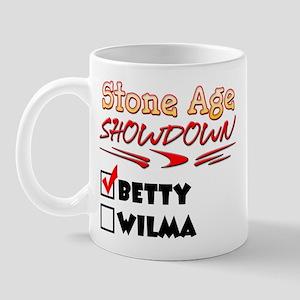 Stone Age Showdown Mug