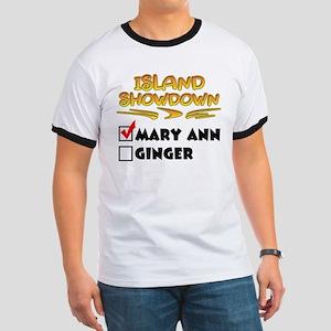 Island Showdown Ringer T