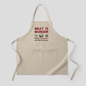 Meat is murder Apron