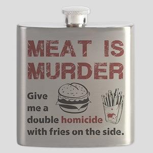 Meat is murder Flask