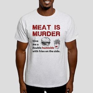 Meat is murder Light T-Shirt
