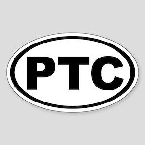 PT Cruiser Oval Sticker