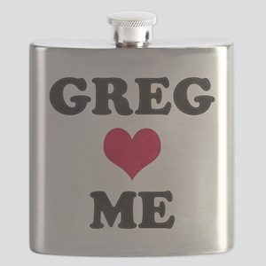 Greg Loves Me Flask