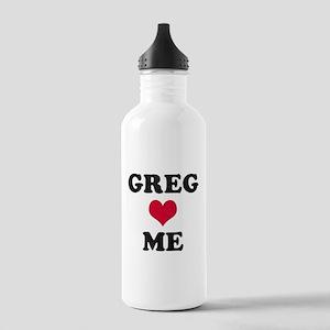 Greg Loves Me Stainless Water Bottle 1.0L