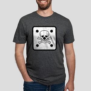 SHIRT_die_skull Mens Tri-blend T-Shirt