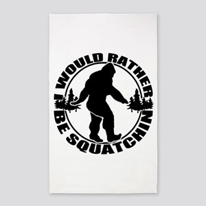 Rather be Squatchin 3'x5' Area Rug