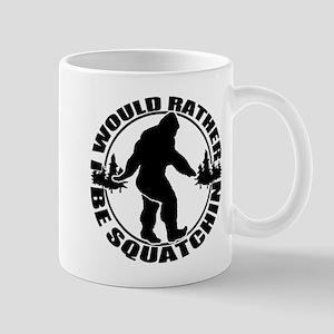 Rather be Squatchin Mug