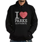 I Heart Parks Unisex Hoodie (dark)