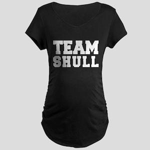 TEAM SHULL Maternity Dark T-Shirt