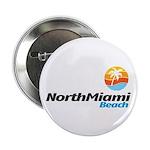 """North Miami Beach 2.25"""" Button (100 pack)"""