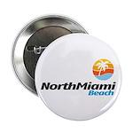 """North Miami Beach 2.25"""" Button (10 pack)"""
