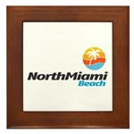 North Miami Beach Framed Tile