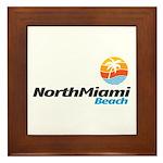 North Miami Beach Framed Tile