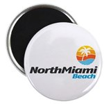 "North Miami Beach 2.25"" Magnet (100 pack)"