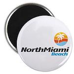 "North Miami Beach 2.25"" Magnet (100 pack)"