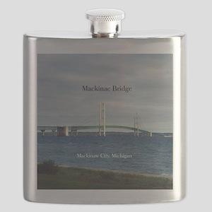 Mackinac Bridge Flask
