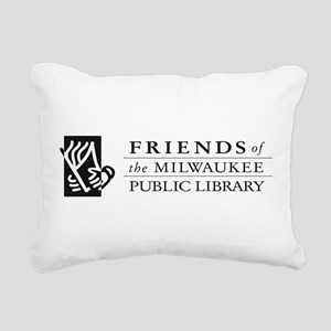 friends logo no tag Rectangular Canvas Pillow