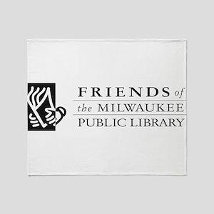 friends logo no tag Throw Blanket