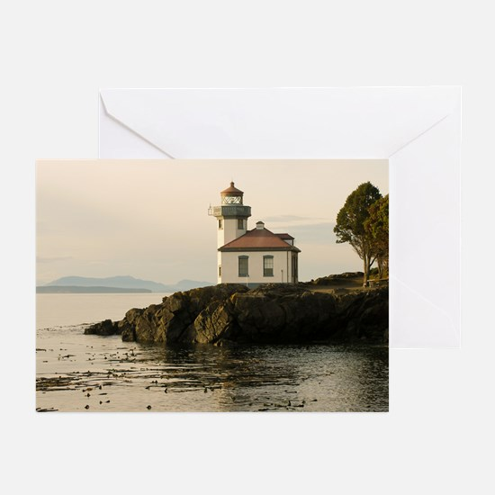 Lime Kiln Lighthouse Greeting Cards (Pk of 10)