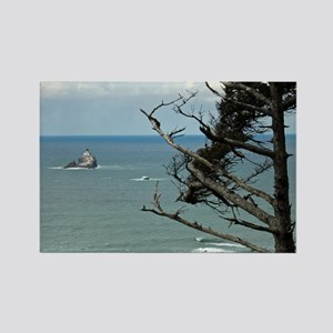 Tillamook Rock Lighthouse Rectangle Magnet