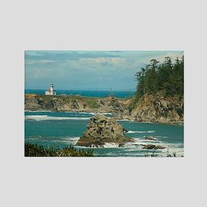 Cape Arago Lighthouse Rectangle Magnet