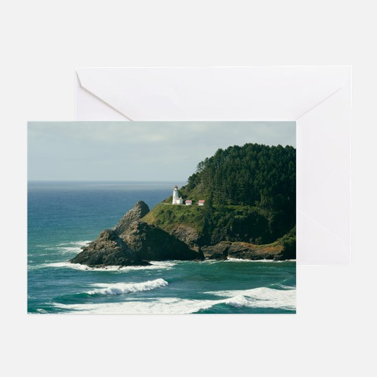 Heceta Head Lighthouse Greeting Cards (Pk of 10)