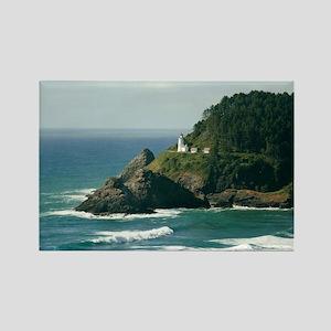 Heceta Head Lighthouse Rectangle Magnet