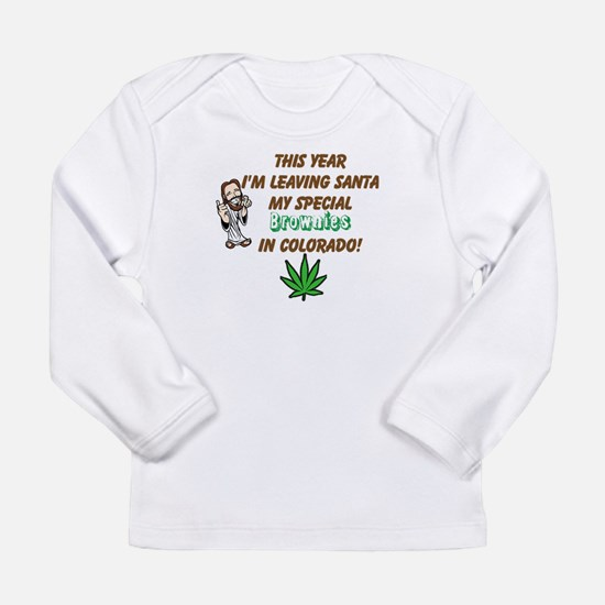 Special Christmas Brownies Long Sleeve Infant T-Sh