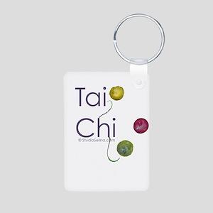 Tai Chi Flow Aluminum Photo Keychain