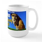 Lion of Judah 10 Large Mug