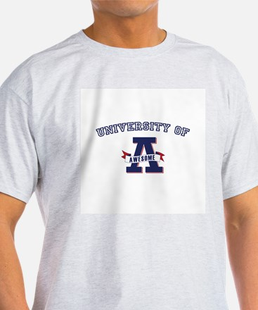 University of Awesome T-Shirt