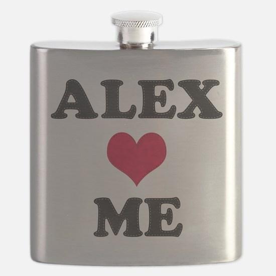 Alex Loves Me Flask