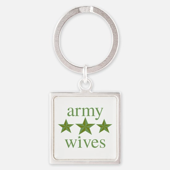 Army Wives Square Keychain