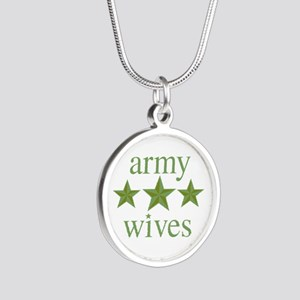 Army Wives Silver Round Necklace