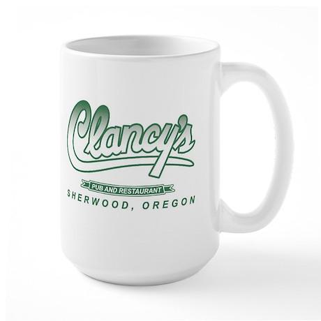 Clancys logo 2 Large Mug