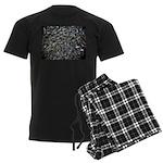Shad in Fall Colors Men's Dark Pajamas
