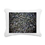 Shad in Fall Colors Rectangular Canvas Pillow