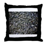 Shad in Fall Colors Throw Pillow