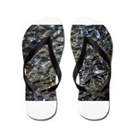 Shad in Fall Colors Flip Flops