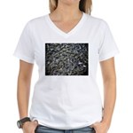 Shad in Fall Colors Women's V-Neck T-Shirt
