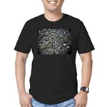Shad in Fall Colors Men's Fitted T-Shirt (dark)
