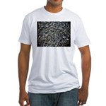 Shad in Fall Colors Fitted T-Shirt